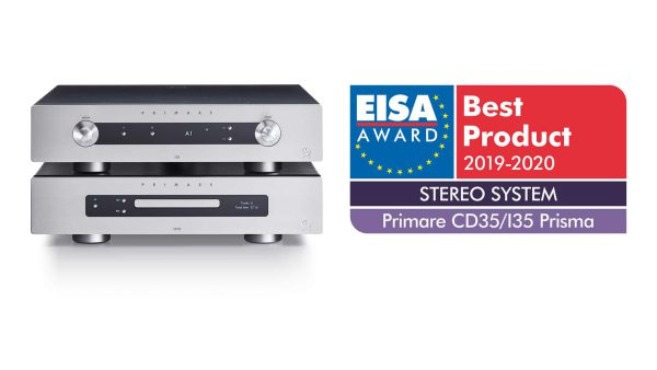 Primare CD35/I35 Prisma Stereo System EISA Award for best product 2019-2020