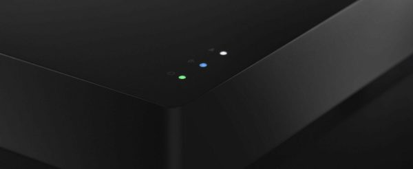 Primare NP5 Prisma network player Close up colored LED