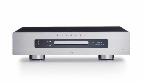 Primare CD35 CD player front titanium