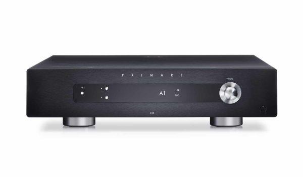 Primare I25 modular integrated amplifier front black
