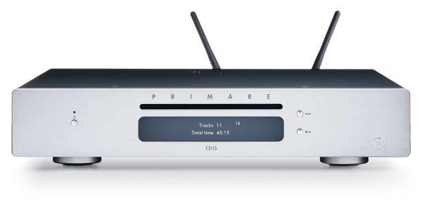 Primare CD15 Prisma CD and network player front titanium